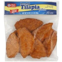 Clear Value Tilapia Fillets