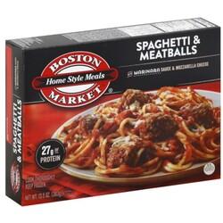 Boston Market Spaghetti & Meatballs