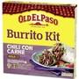 Old El Paso Chili Con Carne Burrito Kit  620 g