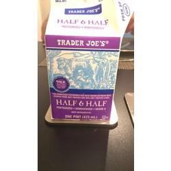 Trader Joe's Half & Half Milk Pasteurized, Homogenized, Grade A