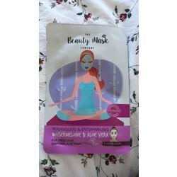 The Beauty Mask Company Beruhigung & Entspannung Tuchmaske Wassermelone & Aloe Vera