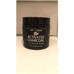 RAY OF SMILE ACTIVATED CHARCOAL TEETH WHITENING POWDER