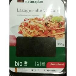 Coop Naturaplan Lasagne Alle Verdure