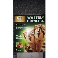 Ice Fantasy Waffel Hörnchen Vanille Haselnuss