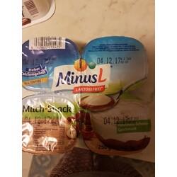 MinusL Laktosefrei Milch-Snack Laktosefreies Milchdessert Mit Haselnuss-Schoko-Geschmack