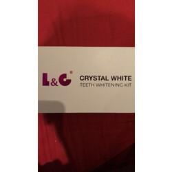 L&C Crystal White Teeth Whitening Kit