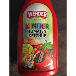 Werder Kinder Tomatenketchup