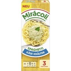 Miracoli Spaghetti Käse Kräuter 3 Portionen 265 g