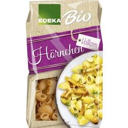 EDEKA Bio Hörnchen Vollkorn aus 100% Hartweizengrieß 500 g
