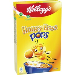 Kelloggs Honey Bsss Pops 375 g