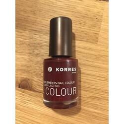 Korres Myrrh & Oligoelements Nagellack  Nr. 59 dark red