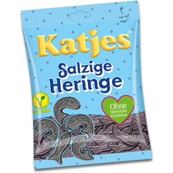 Katjes - Salzige Heringe