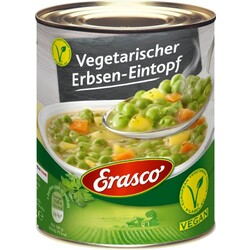 Erasco - Vegetarischer Erbsen-Eintopf