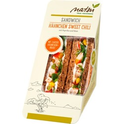 natsu Sandwich Hähnchen Sweet Chili