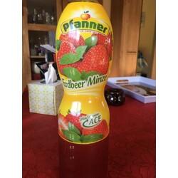 Pfanner Erdbeer Minze