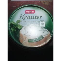 Milfina Frischkäsezubereitung Kräuter