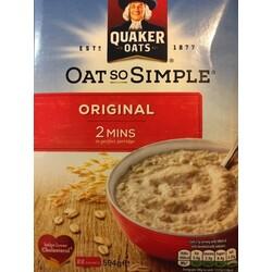 Oat so Simple Original - Quaker Oats