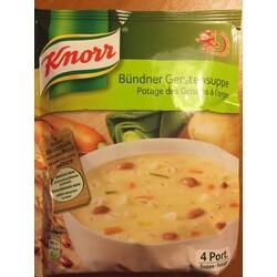 Knorr Bündner Gerstensuppe