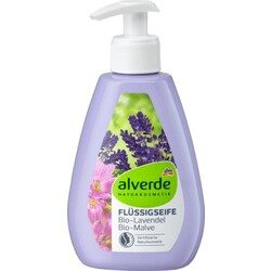 alverde Flüssigseife Bio-Lavendel Bio-Malve