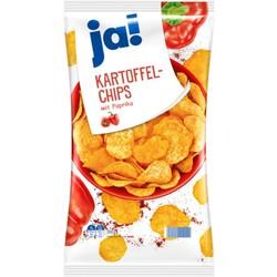 ja! Kartoffel-Chips mit Paprika-Geschmack