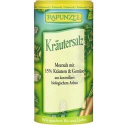 Rapunzel Kräutersalz mit 15% Kräutern & Gemüse Streudose