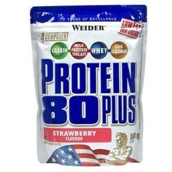 Weider Protein 80 Plus, Erdbeere, Pulver (500 g) von Weider