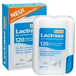 Lactrase 6000 Klickspender (120 Tabletten) von Lactrase