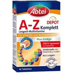Abtei A-Z Komplett plus Ginkgo (42 Tabletten) von Abtei