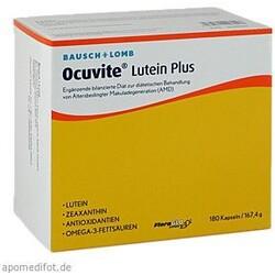 Ocuvite Lutein Plus (180 Kapseln)