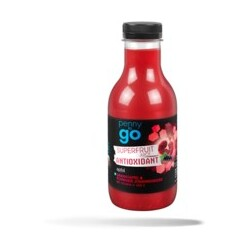 "penny to go ""Superfruit juice Antioxidant"""