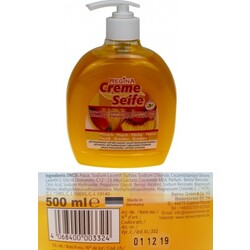Creme Seife - Pfirsich