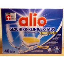 alio Geschirr-Reiniger-Tabs für Spülmaschinen complete