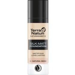 Terra Naturi Silk-Matt Foundation 01 Natural Beige