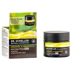 Dr. Scheller Anti-Falten Nachtpflege, Arganöl-Amaranth (50 ml) von Dr. Scheller