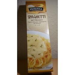 Primana Spaghetti mit Käsesauce