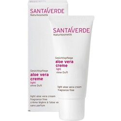 SantaVerde Aloe Vera Creme Light Ohne Duft (Crème  30ml)
