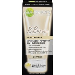 Garnier BB Cream Miracle Skin Perfector Sehr Hell