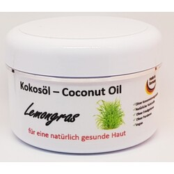 Kokosöl -Coconut Oil Lemongras, Vegan
