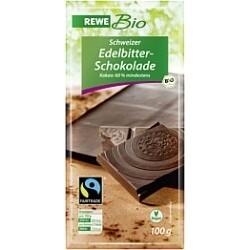 Rewe Bio Schweizer Edelbitterschokolade