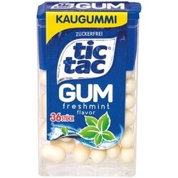 Tic Tac GUM Kaugummi freshmint zuckerfrei, 17,5 g