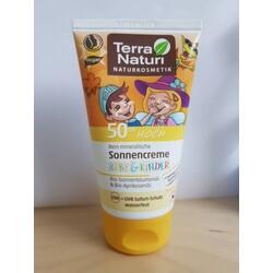 Terra Naturi Sonnencreme Baby und Kinder LSF 50