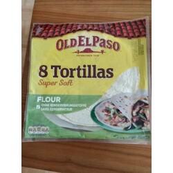 Old El Paso Soft Tortillas 326 g