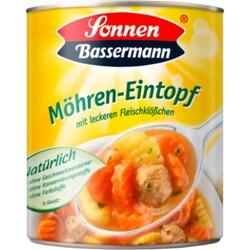 Sonnen Bassermann - MÖHREN-EINTOPF (mit leckeren Fleischklößchen)