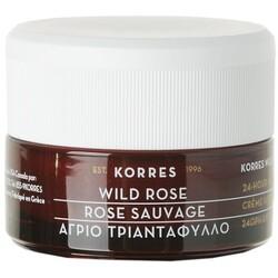 Korres Wild Rose 24 Stunden Feuchtigkeitscreme Mischhaut