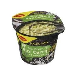 Maggi Magic Asia Thai Green Rice Curry mit Jasminreis