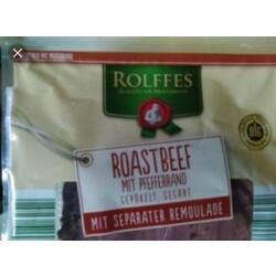 """ROLFFES """"ROASTBEEF mit Pfefferrand"""" mit Remoulade"""