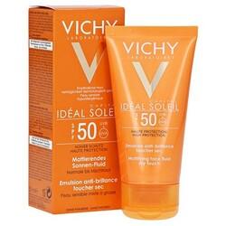 Vichy Ideal Soleil Mattierendes Sonnen-Fluid für Gesicht LSF 50