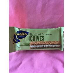 Wasa - Sandwich Cheese & Chives 3 Stück