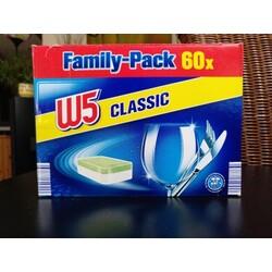 W5 Geschirrspültabs Classic, phosphatfrei, Family-Pack