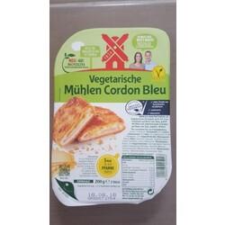 Rügenwalder Mühle Vegetarische Mühlen Schnitzel - Cordon Bleu